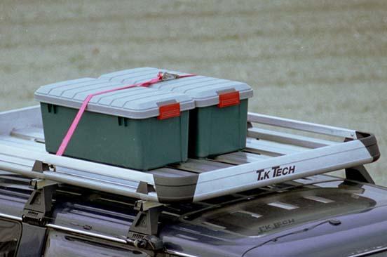 ランクル、プラド、サーフなどに適合のアルミ製ラック