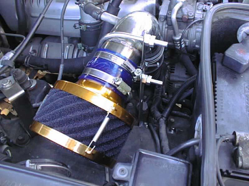 ランドクルーザー80マイナー前4200ディーゼル用エアクリーナー『RUSHフィルター』