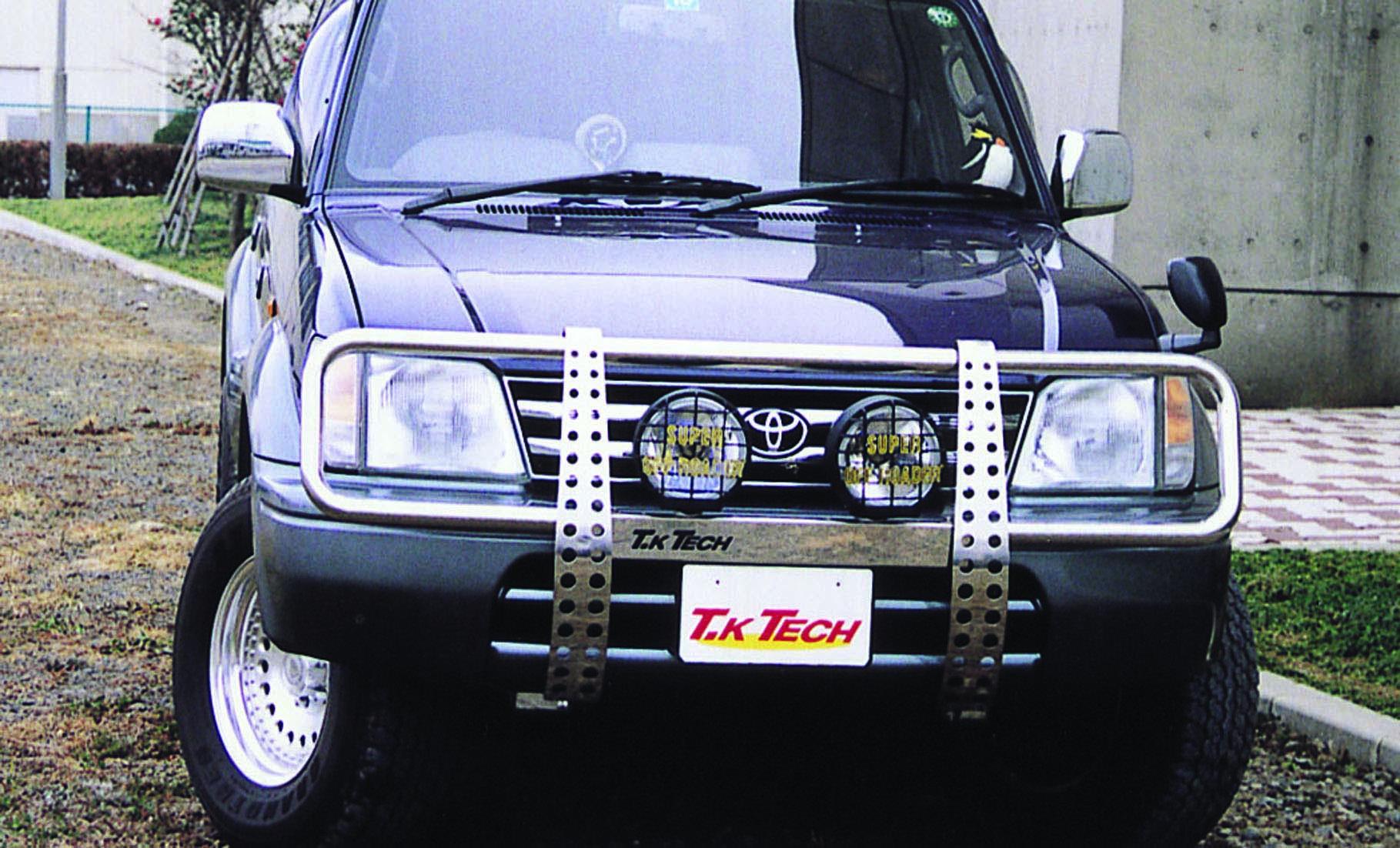 ランクル90プラド用カスタムパーツ グリルガード「VHG」
