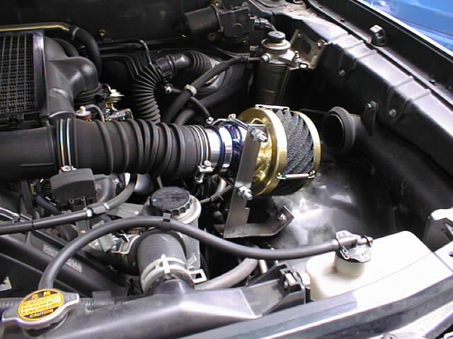 ランドクルーザー90プラド(3000ccデイーゼル1KZ)用エアクリーナー「RUSHフィルター」