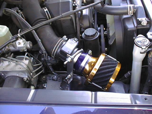 ランドクルーザー90プラド用エアクリーナー「RUSHフィルター」