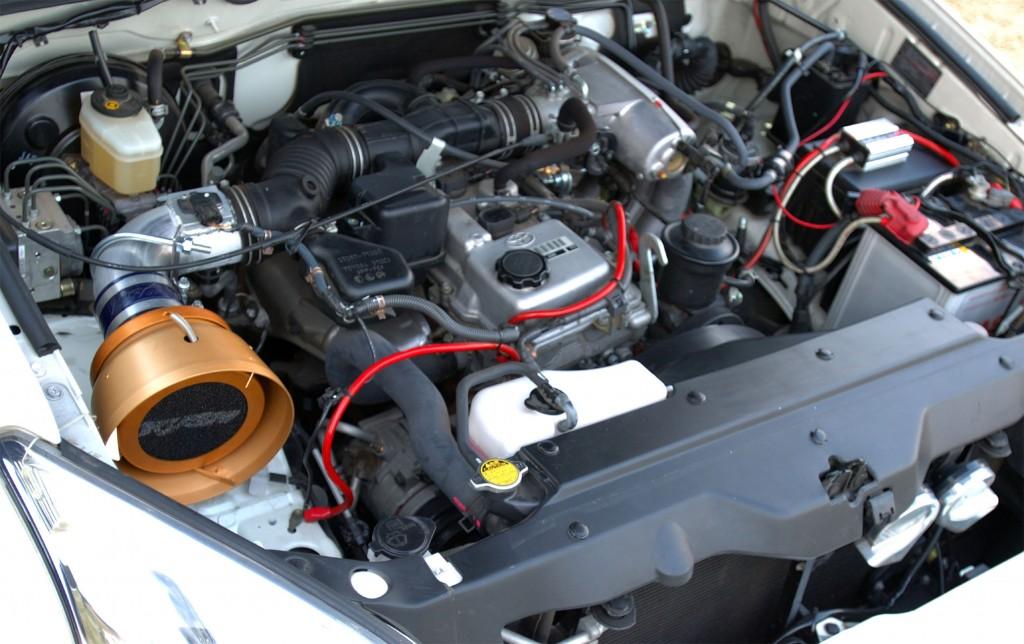 120プラド 2700cc(3RZ)用エアクリーナー RUSHフィルター