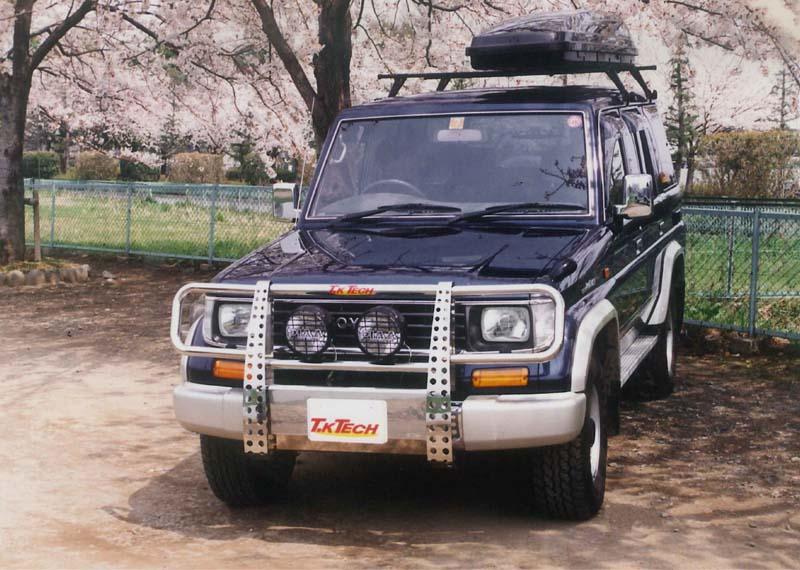 ランクル70プラド用カスタムパーツ グリルガード 「VHG」
