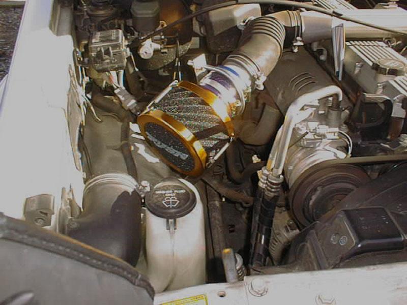 ランドクルーザー70用エアクリーナーRUSHフィルター4200cc 1HZ