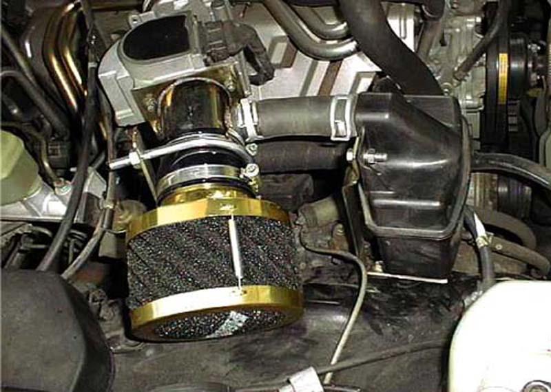 ランドクルーザー80マイナー前1FZ用エアクリーナー『RUSHフィルター』